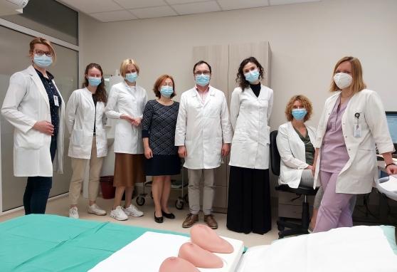 Nacionaliniame vėžio institute – mokymai ir studentams, ir profesionalams