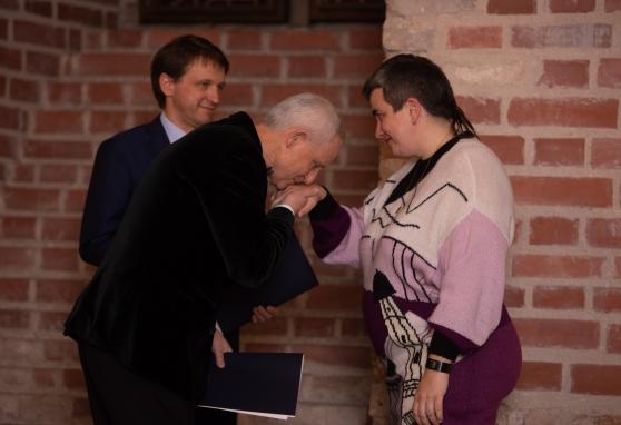 Tradiciškai įteiktos prof. Kazimiero Pelčaro vardo stipendijos