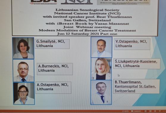 Tarptautiniame internetiniame seminare – NVI specialistai ir kviestinis lektorius iš Šveicarijos