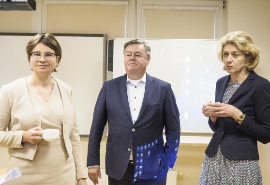 Europiniai mokymai ir tarptautinė konferencija Nacionaliniame vėžio institute