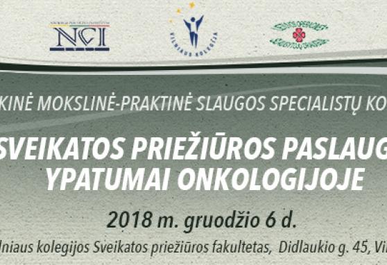 Respublikinė mokslinė-praktinė slaugos specialistų konferencija