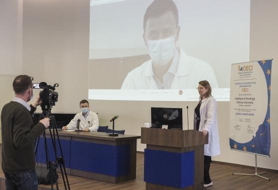 Įvyko trečioji nuotolinė konferencija, skirta prostatos vėžio diagnostikai ir gydymui: dalytis patirtimi ir mokytis tik iš geriausių