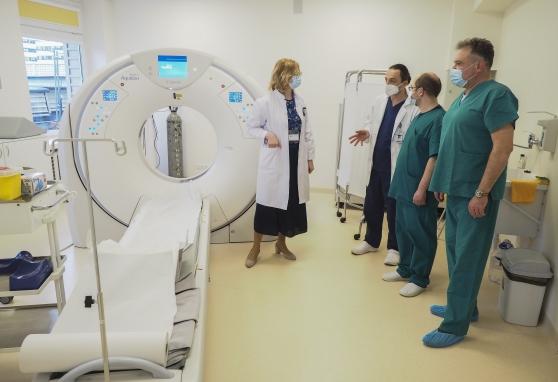 Intervencinės radiologijos patirtimi dalijomės su kolegomis iš Šiaulių