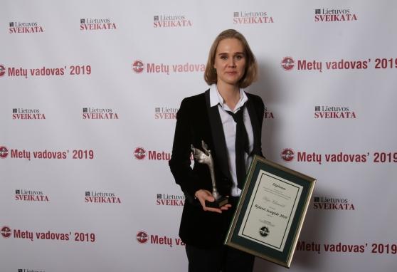 """Gydytoja Otilija Kutanovaitė – """"Kylanti žvaigždė 2019"""""""