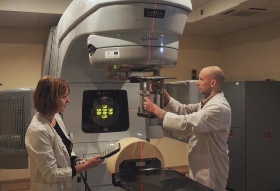 Nacionalinio vėžio instituto medicinos fizikai – pacientų gerovei