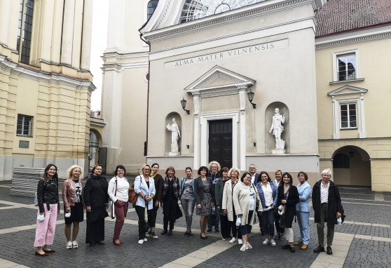 NVI darbuotojams – ekskursija po Vilniaus universitetą