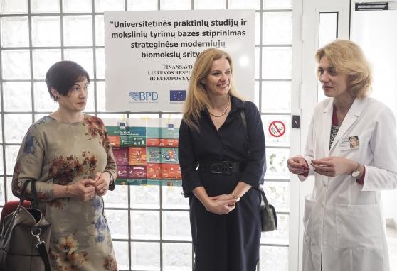 Lankėsi Tarptautinės Vilniaus moterų asociacijos narės