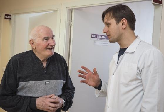 Turėti tikslą ir pasitikėti gydytojais