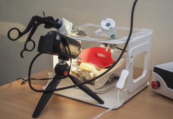 Naudojant robotizuotą ranką atliktos pirmosios operacijos