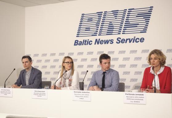 Į audito išvadas atsakyta spaudos konferencijoje