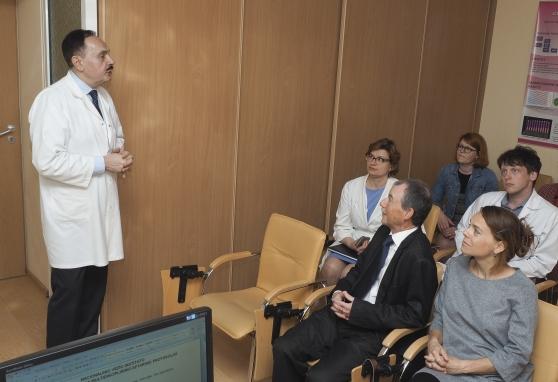 Krūties vėžio diagnozė pirmą kartą aptarta su užsienio ekspertais