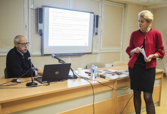 Prof. Luca Giovanella skaitė paskaitą apie vėžio žymenų reikšmę klinikoje